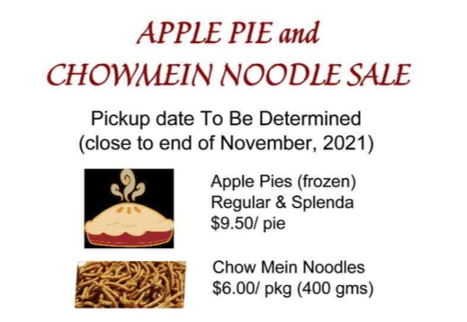 images of pies and chowmein